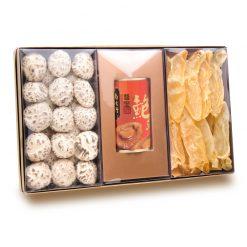 花菇+澳洲醬皇鮑魚+花膠禮盒