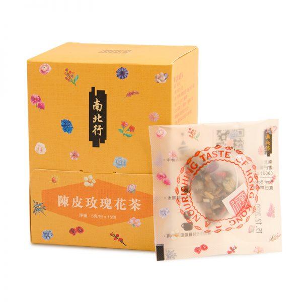 260754陳皮玫瑰花茶